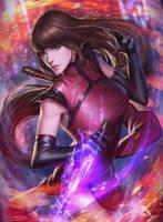 Sujin - Soulcalibur V [FANART] by Sunkeytail