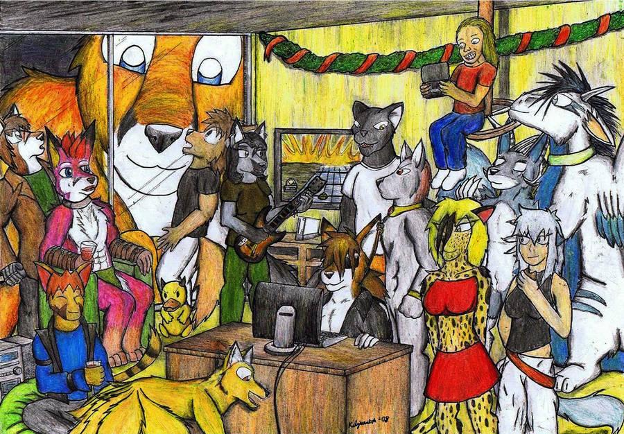 Christmas party by SirKiljaos