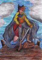 Zofie the vixen pirate by SirKiljaos