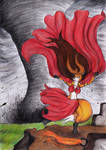 Anima's Tornado Dance by SirKiljaos