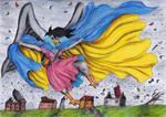 Ydia in Wind by SirKiljaos
