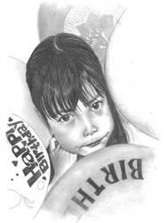my niece : Aleya by sahathai