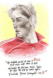 liverpool's number 9 by sahathai