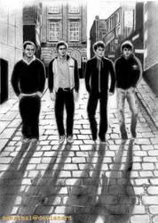The Arctic Monkeys by sahathai