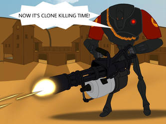TF2: Meet The B2 Heavy Battle Droid (Red) by B1BattleDroid