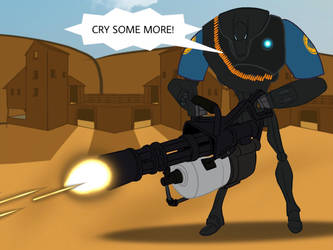 TF2: Meet the B2 Heavy Battle Droid (Blu) by B1BattleDroid