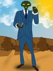 TF2: Meet Freedom The Spy (Blu) by B1BattleDroid