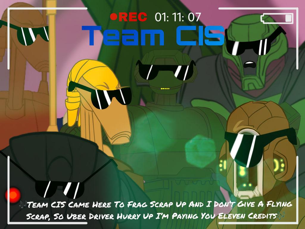 Team CIS (Team 6 Parody) by B1BattleDroid