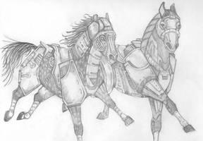 Beast Machines - Horsepower by korat