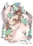 wolf princess   ORCHID by SZOPISKO