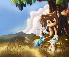 young sonic by lkt565760