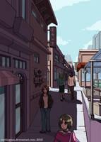 Concept: Shopping Arcade 2 by Carthegian