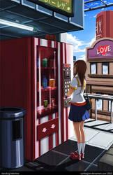 Vending Machine by Carthegian