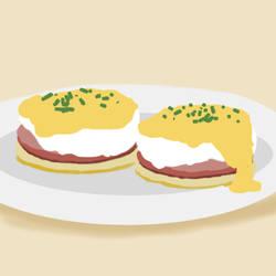 Eggs Benedict by JoJoElimo