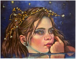 Starry night...oils by xxaihxx