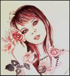 watercolour sketch by xxaihxx
