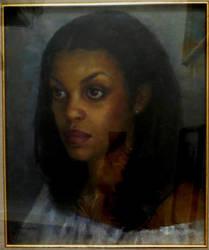 Portrait of my foster daughter by xxaihxx