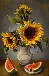 Sunflowers by xxaihxx