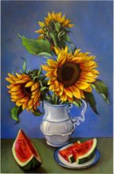 Sunflowers 2 by xxaihxx