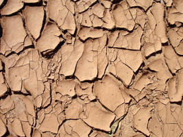 Cracked Red Clay by GrungeTextures