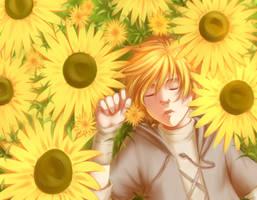 Sunflower by Lunallidoodles