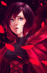 Ruby Rose by Lunallidoodles