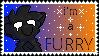 Furry Stamp by MoonyDrawz