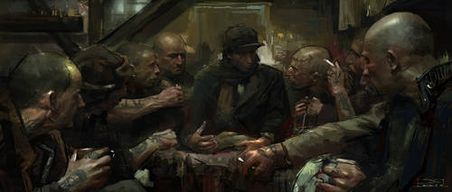 Concentration Camp by chuanzhong