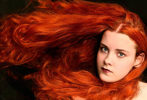 Red Hair by FaeDahl