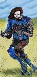 Infinity War: Winter Soldier by nileek