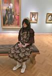 Julia - Lady in Dark Wine - Art Museum 3 by TGrrr89
