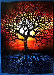 Tree of life - school work by Ronny-F
