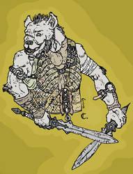 Hyena Man by Konquistador