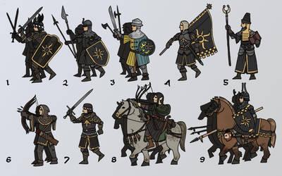 Pocket Battles: Nilfgaard by Konquistador