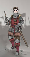 Leading the legion by Konquistador