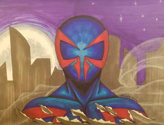 Spider Man 2099 by Rone187