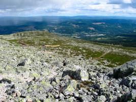View of Trysil Again by SarahSnusk