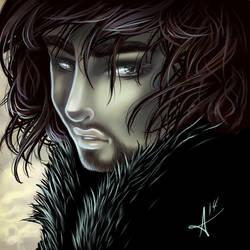 Jon Snow by fearn
