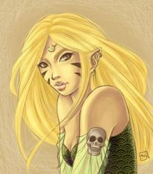 Golden Elf by fearn