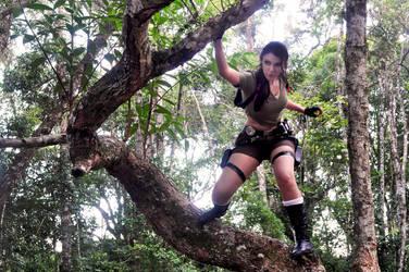 Lara Croft 01 by mosomenzari