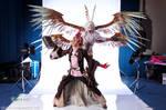 Garuda and Summoner 02 by mosomenzari