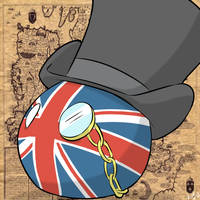 British Countryball by Arjay-the-Lionheart