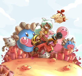 Slime Rancher by Arjay-the-Lionheart