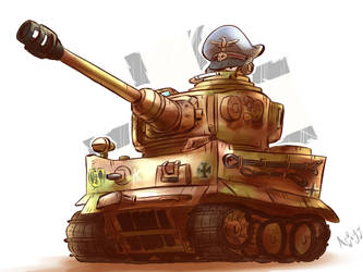Tiger 1 by Arjay-the-Lionheart