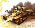 Italian L3-35(CV-35) Flamethrower Version. by Arjay-the-Lionheart