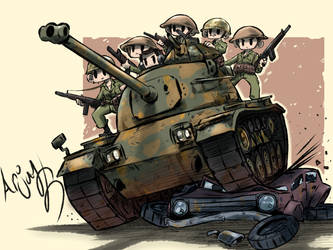 Turkish M48 Patton by Arjay-the-Lionheart