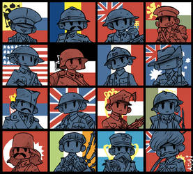 World War One. by Arjay-the-Lionheart