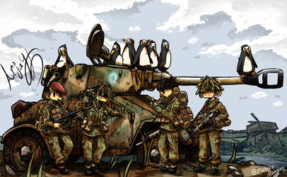 The Panhard Aml 90(falklands war) by Arjay-the-Lionheart