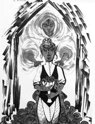 INKTOBER 10/31 - Warden's nightmares by DraumWitch