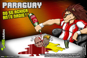 PARAGUAY copa america 2011 by GoliFeng